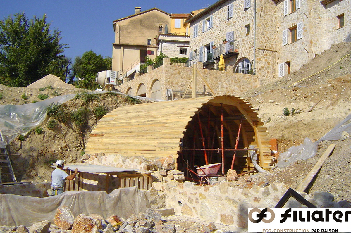 Chantier Magnagnosc Construction Des Voutes
