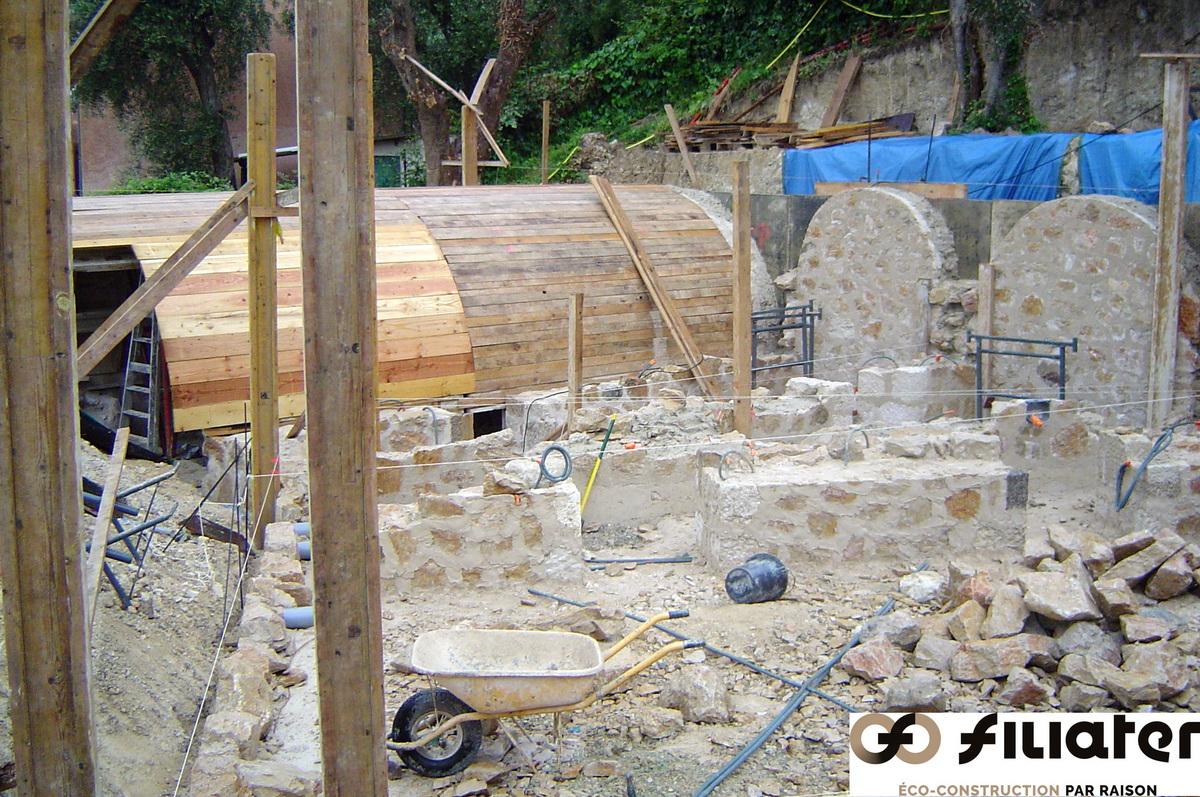 Chantier Magnagnosc Construction Des Voutes 0002