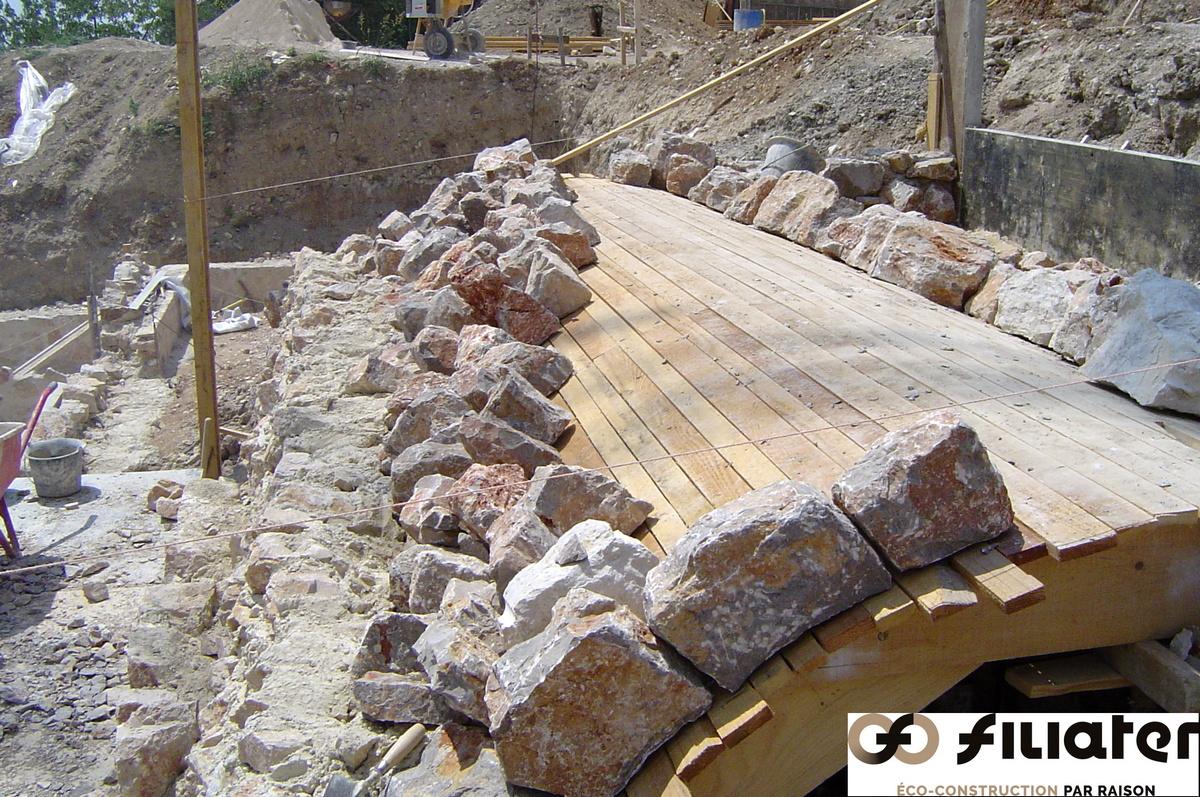 Chantier Magnagnosc Construction Des Voutes 0003