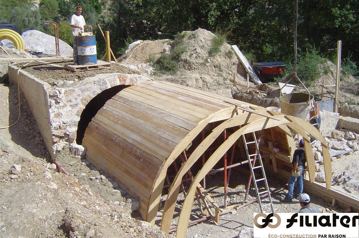 Chantier Magnagnosc Construction Des Voutes 0004