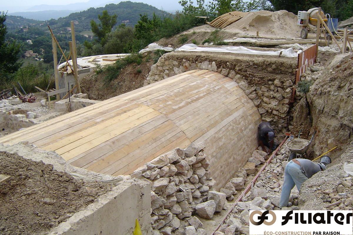 Chantier Magnagnosc Construction Des Voutes 0006