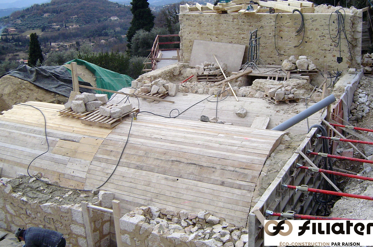 Chantier Magnagnosc Construction Des Voutes 0007