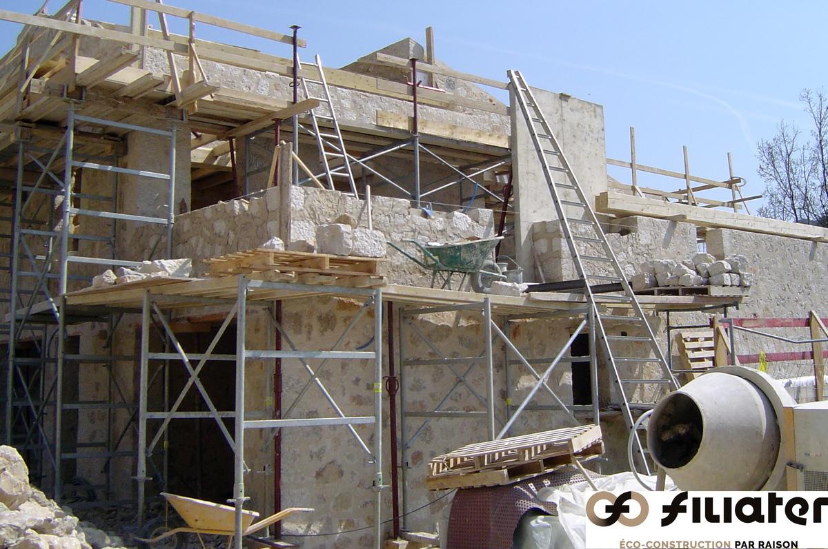 Chantier Magnagnosc Construction Des Voutes 0008