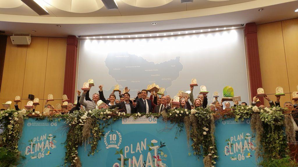 Remise Trophes Forum Annuel Climat Energie Alpes Maritimes